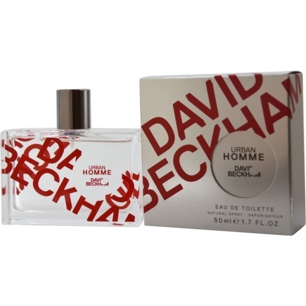 David Beckham Urban Homme Mens 1.7-ounce Eau de Toilette Spray
