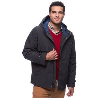 Tommy Hilfiger Men's Poly-twill Hooded Squall Jacket