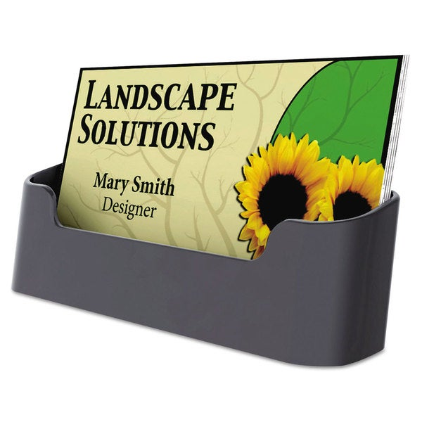 Universal Black Business Card Holder (Pack of 20) 15248025
