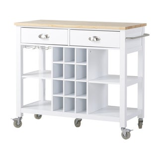 Wide Kitchen Island Cart