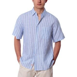Men's Casual Striped Linen Shirt