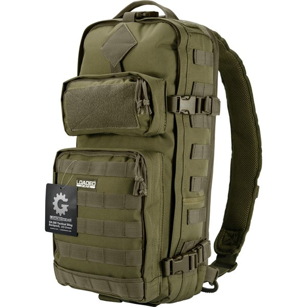 Loaded Gear OD Green GX-300 Tactical Sling Backpack