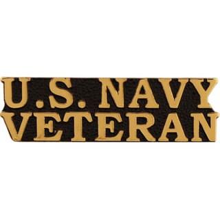 US Navy Bold Faced Veteran Pin