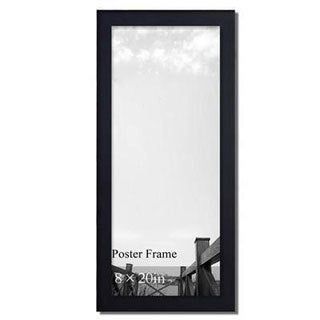 Adeco Decorative Black 8-inch x 8-inch Wood Wall Hanging Poster/ Picture/ Photo Frame