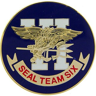 United States Navy Seal Team Six Pin