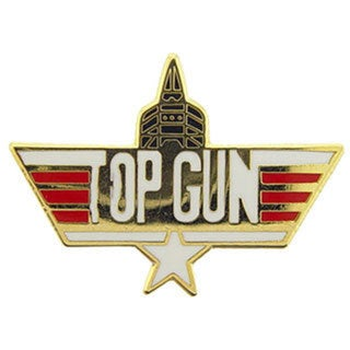 US Navy Top Gun Jet Pin