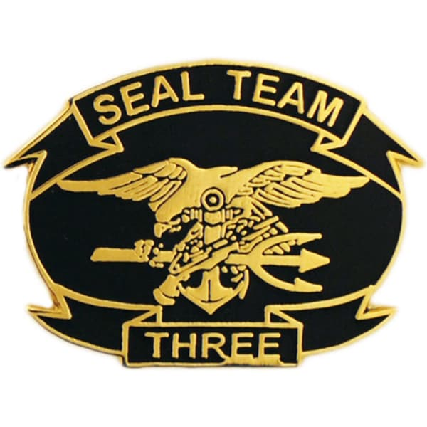 United States Navy Seal Team Three Pin