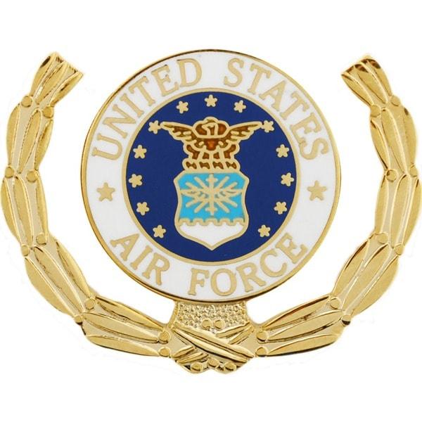 United States Air Force Logo Wreath Pin