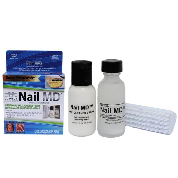 Nail MD Antifungal Nail Lacquer 3-piece System