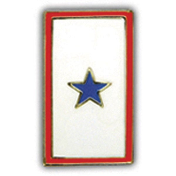 Blue Star Flag Pin
