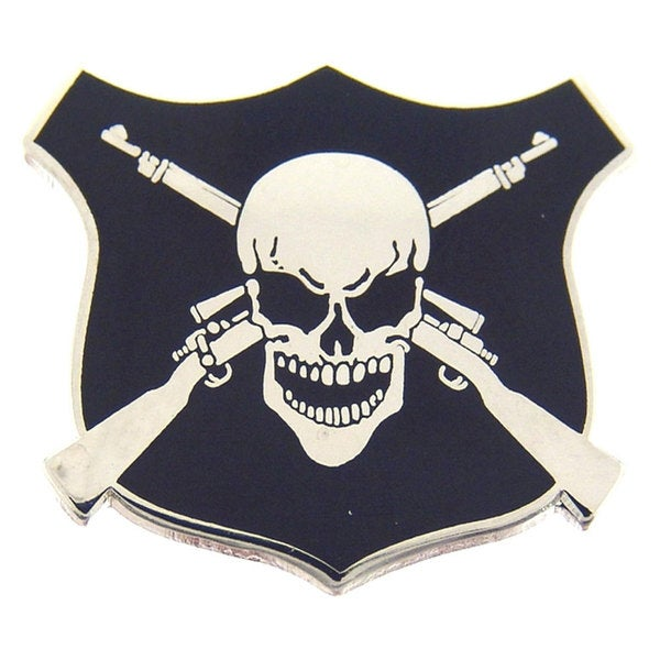 Sniper's Badge Pin