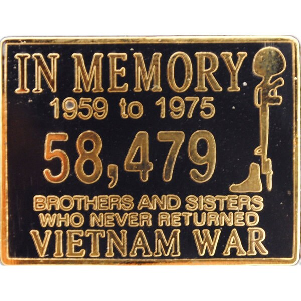 Vietnam In Memory Pin