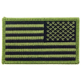 USA Flag Patch Right Arm