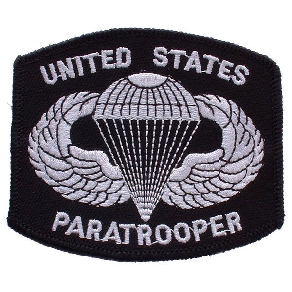 US Army Paratrooper Patch