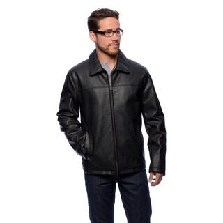 Cole Haan Men's 27-inch Shirt Collar Open Bottom Jacket