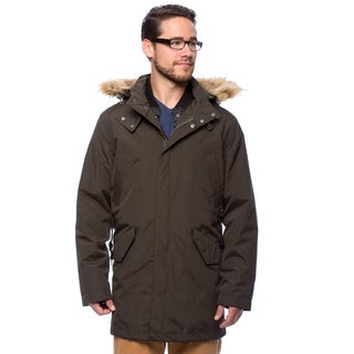 Cole Haan Men's 37.5-inch 3-in-1 Anorak with Removable Hood and Liner