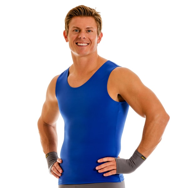 InstaSlim Pro Active Wear Compression Muscle Tank T-shirt