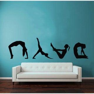Yoga Fitness Vinyl Wall Art