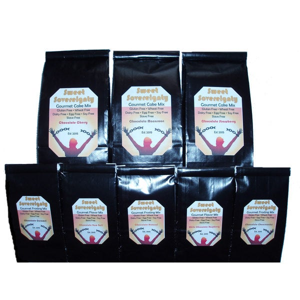 Chocolate Lovers Gluten Free Assorted Baking Mix Gift Box