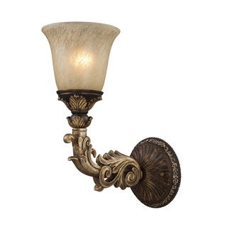 Regency Collection 1-light Wall Sconce In Burnt Bronze