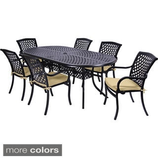 MIYU Furniture Princeton Collection 7-piece Dining Set