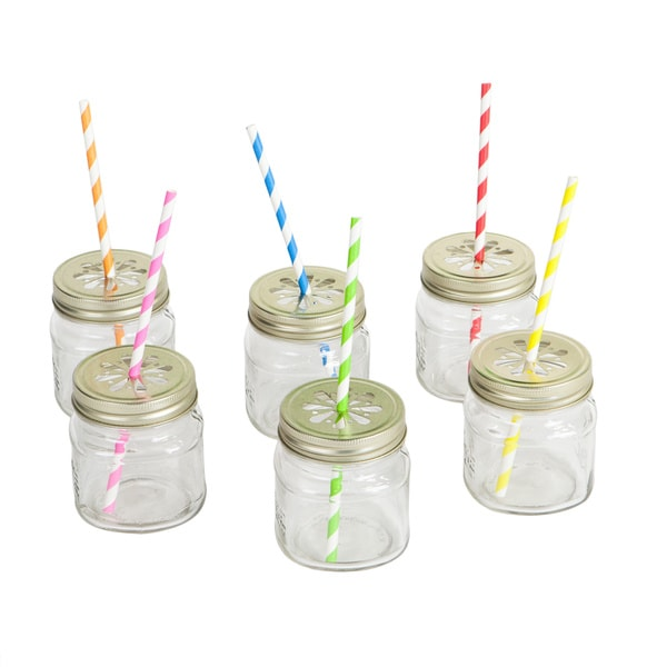 Mason Jar Tumbler Party Box Set