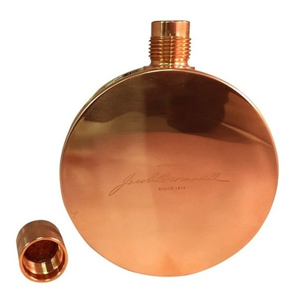 Jacob Bromwell The Alamo Round Flask