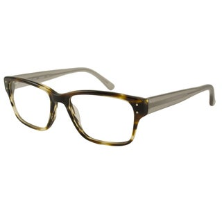 Michael Kors Men's MK284M Rectangular Reading Glasses