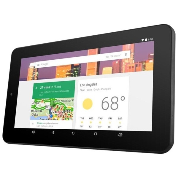 """Ematic 7"""" HD Quad-Core Multi-Touch Tablet with Android 5.0, Lollipop"""