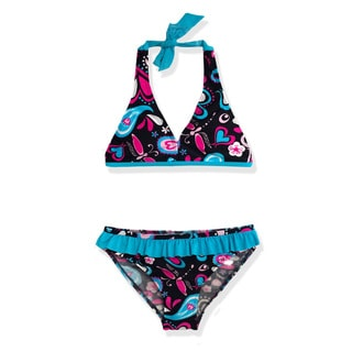 Jump'N Splash Girl's Paisley Bikini Swimsuit