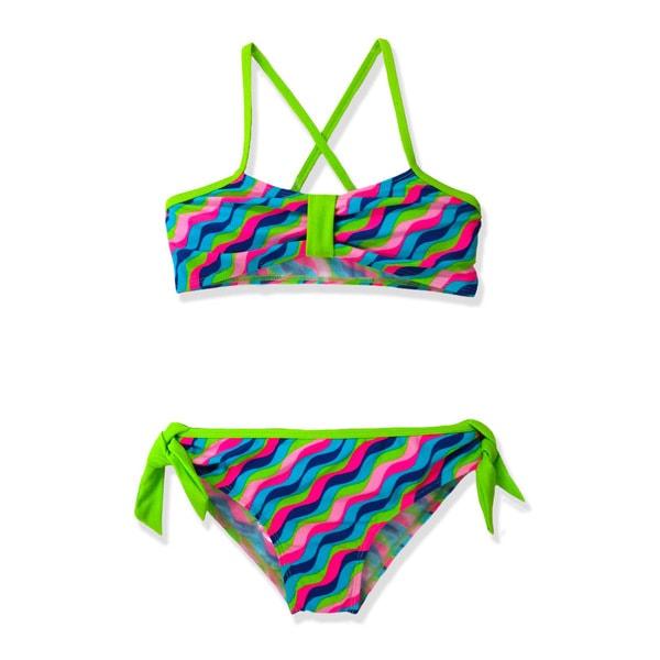 Jump'N Splash Girl's Wave Crossback Bikini Swimsuit