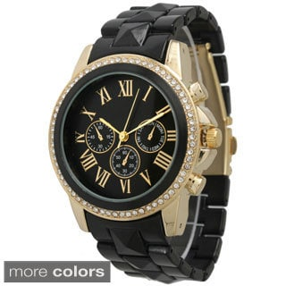 Olivia Pratt Women's Pyramid Stud Boyfriend Watch