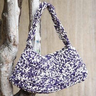 Handcrafted Jute 'Pisco Vineyards' Handbag (Peru)