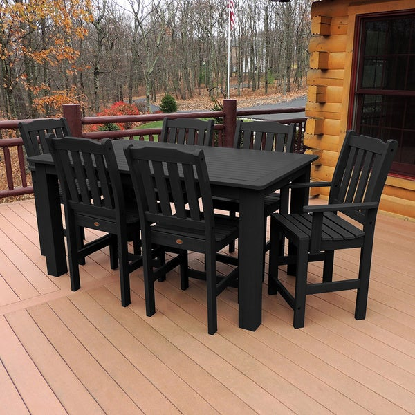 Highwood Marine grade Synthetic Wood Lehigh 7 piece  : Highwood Marine grade Synthetic Wood Lehigh 7 piece Rectangular Dining Set 267adfbc a4ac 4abd b6dc f9059794c481600 from www.overstock.com size 600 x 600 jpeg 121kB