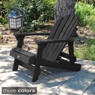Highwood Marine-grade Synthetic Wood Kids Hamilton Folding/ Reclining Adirondack Chair (Eco-friendly)