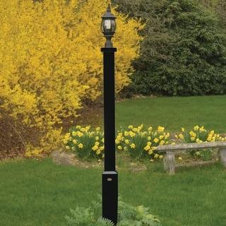 Highwood Marine-grade Synthetic Wood Brockton Lamp Post