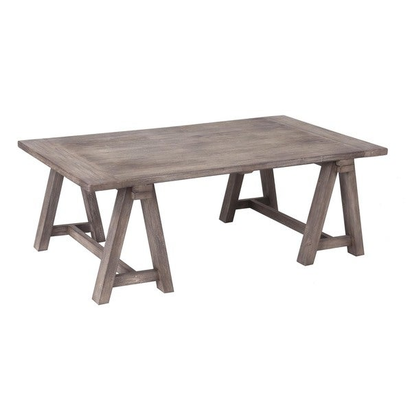 Decorative Phoenix Casual Grey Rectangle Cocktail Table
