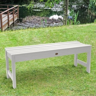 HighWood Marine-grade Synthetic Wood 5-foot Lehigh Backless Bench (Eco-friendly)