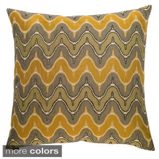 Impressive Feather and Down Filled Decorative Throw Pillow