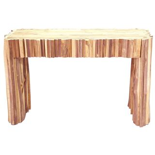 Alaterre Rustic Reclaimed Wood Sofa Console Table