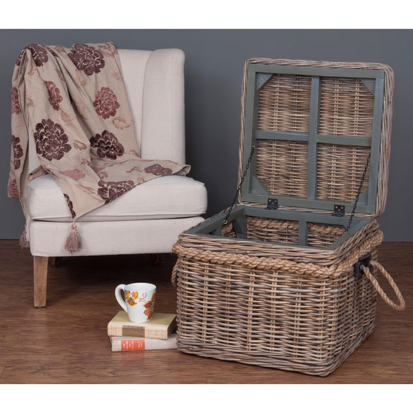 Decorative Norway Casual Off-White Square Accent Table
