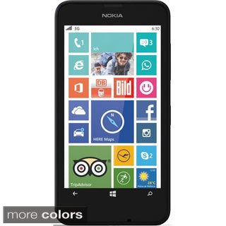 Nokia Lumia 630 8GB 4.5-inch Unlocked GSM 3G Windows 8.1 Smartphone