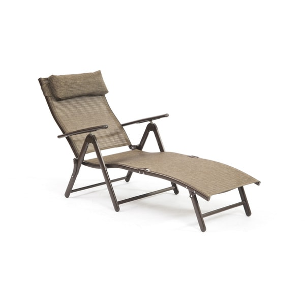 Havana bronze sunlounger 17221140 for Bronze chaise lounge