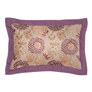 Jennifer Taylor Purple Floral Daphne King Sham (Set of 2)