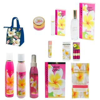 Forever Florals Hawaiian Plumeria Everything Body Care 11-piece Gift set