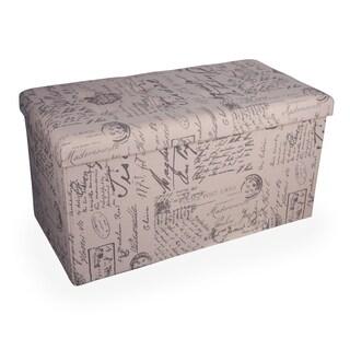 Danya B. Folding Storage Bench - Canvas Print