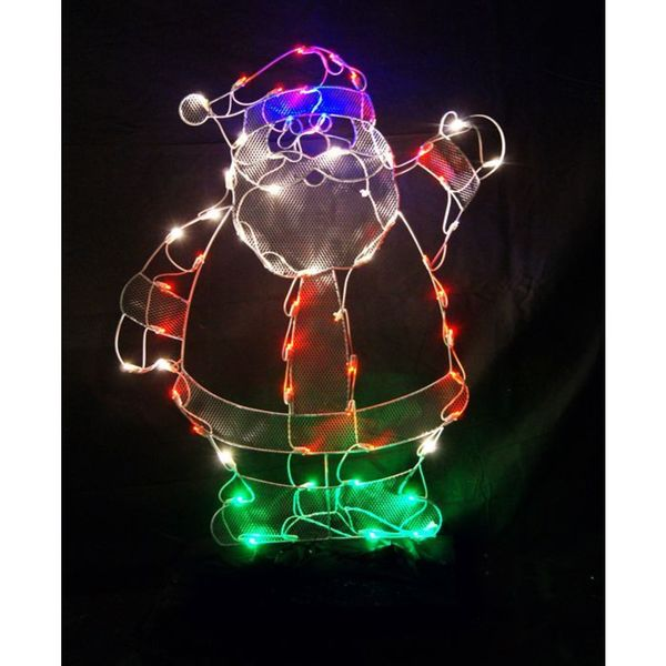 42-inch Santa Outdoor Decoration