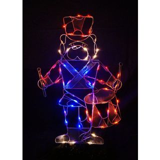 42-inch Nutcracker Outdoor Decoration