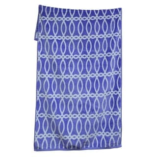 100-percent Cotton Yarn Dyed Lattice Beach Towels