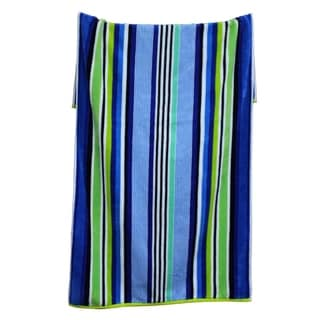 100-percent Cotton Yarn Dyed Oversized Maui Cool Beach Towels